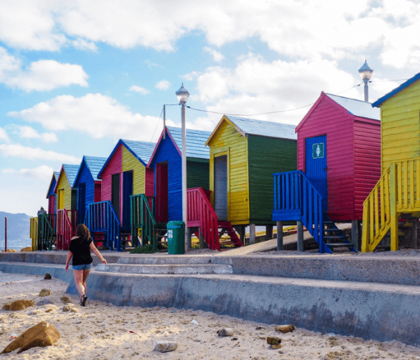 St James Beach - Garden Route Itinerary