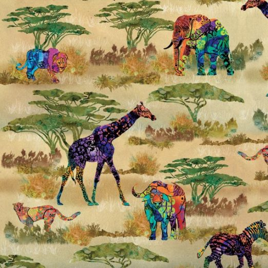 Serengeti Animal Fabric
