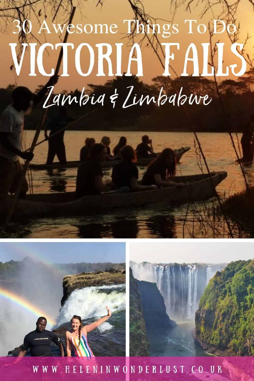 The Best Things To Do at Victoria Falls - Zambia & Zimbabwe