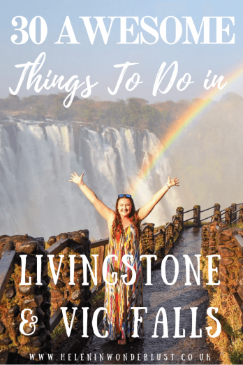 The Best Things To Do in Victoria Falls Zambia Zimbabwe