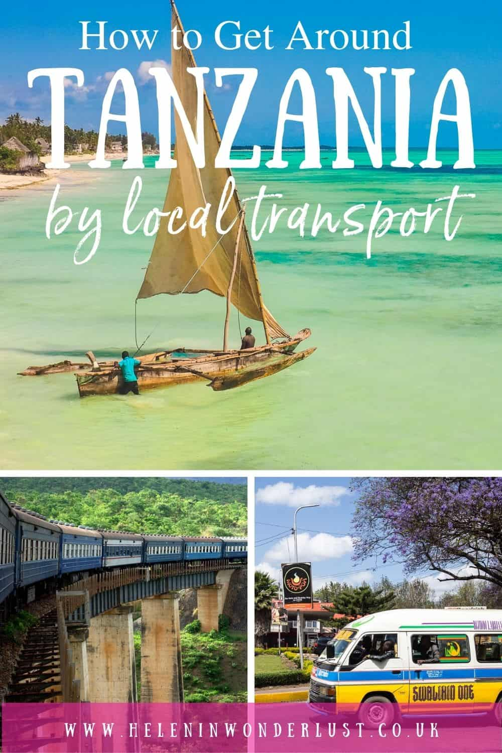 How To Get Around & Travel in Tanzania By Local Transport