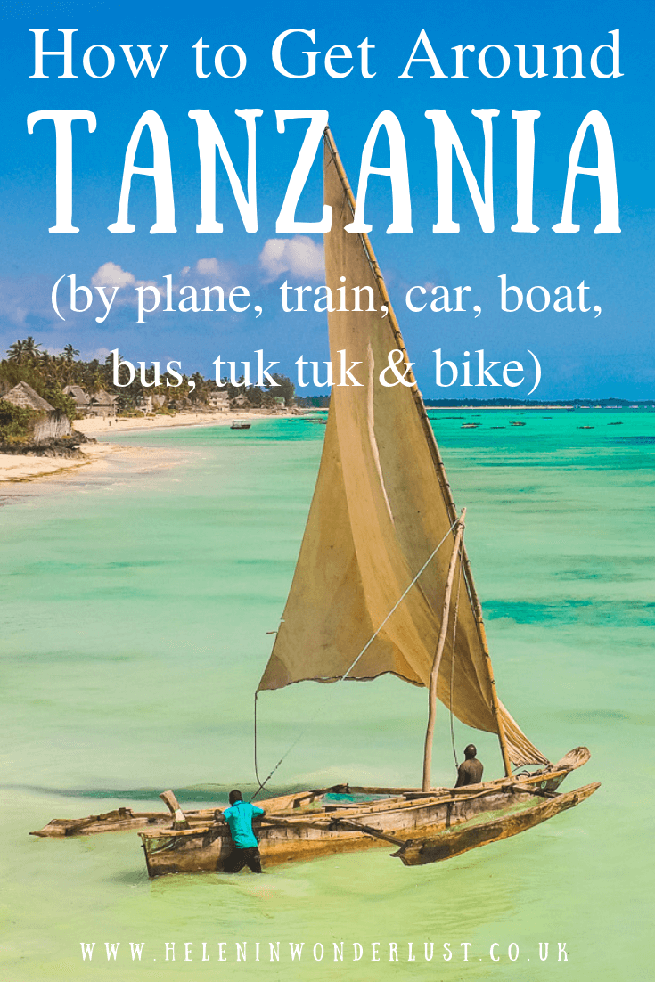 How to Get Around Tanzania