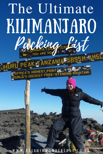 The Ultimate Kilimanjaro Packing List - Everything You Need for a Comfortable and Successful Trek