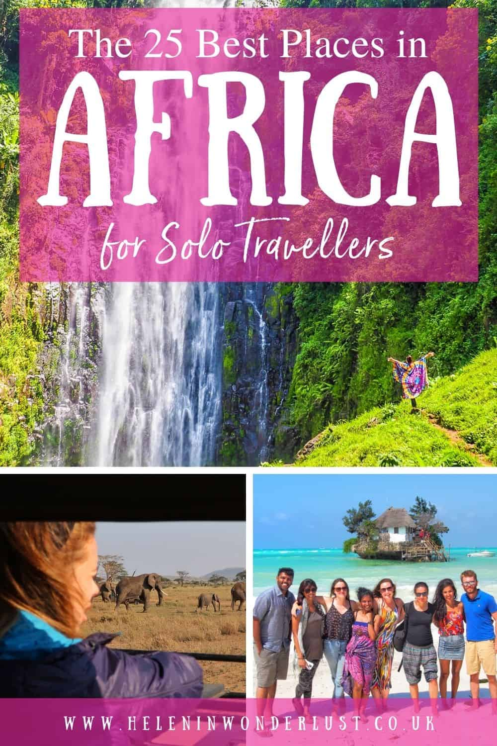 The 25 Best Places in Africa for Solo Travellers