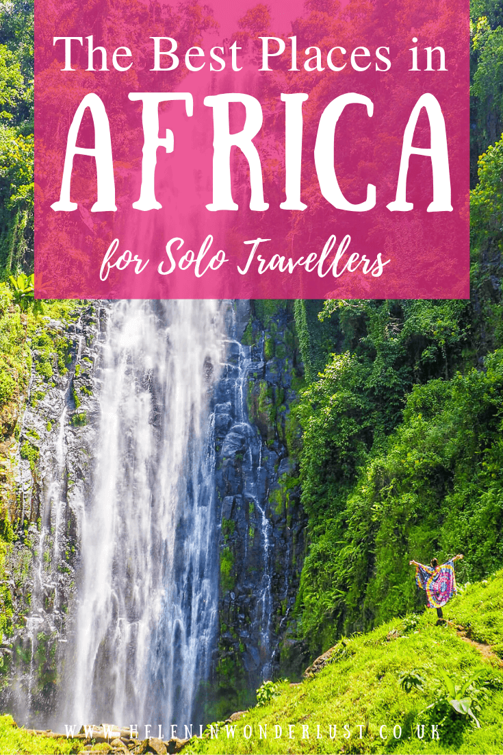 The Best Places in Africa for Solo Travellers