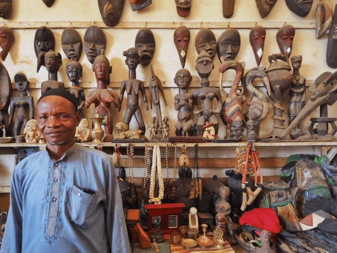 The Big Market, Freetown.