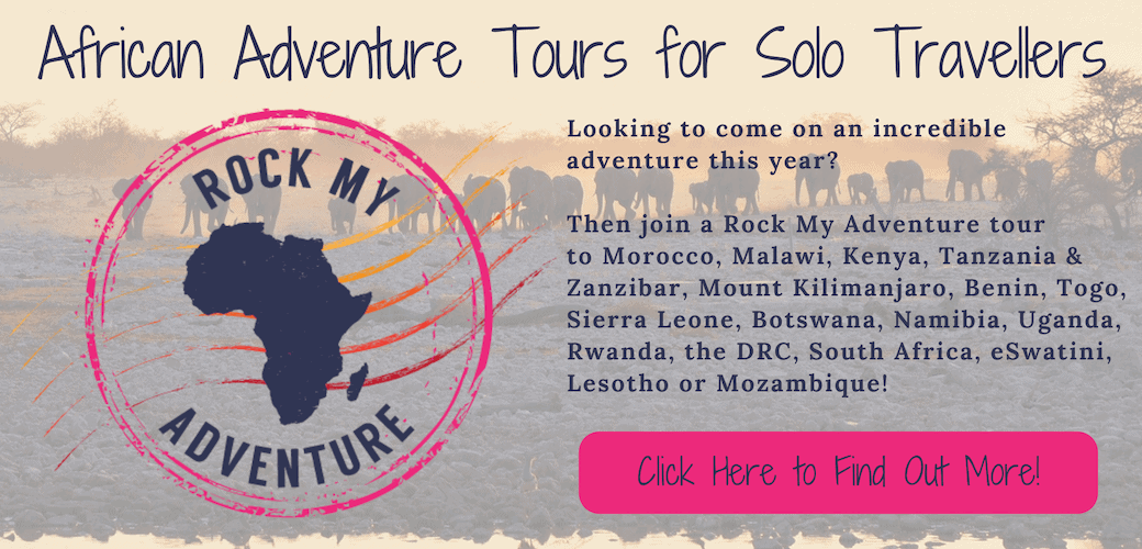 African Adventure Tours for Solo Travellers - Rock My Adventure