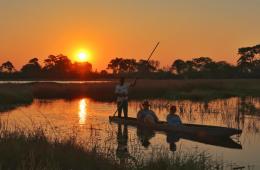 Okavango Delta Canoe Trip