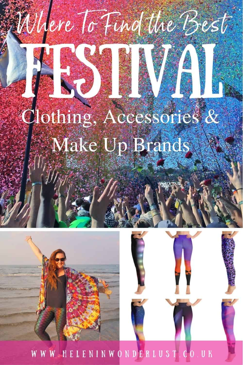 Where To Find the Best Festival Clothing, Accessories & Make Up