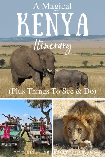 Kenya Itinerary