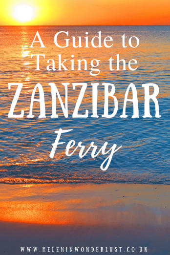 A Guide to Taking the Zanzibar Ferry