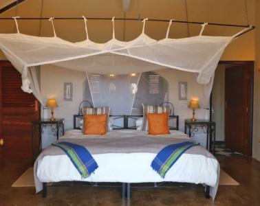 Rooms at the Stanley Safari Lodge in Livingstone, Zambia