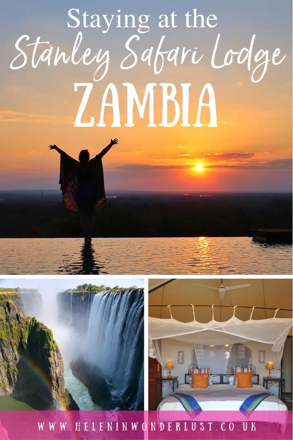 Staying at the Stanley Safari Lodge in Livingstone Zambia with Robin Pope Safaris