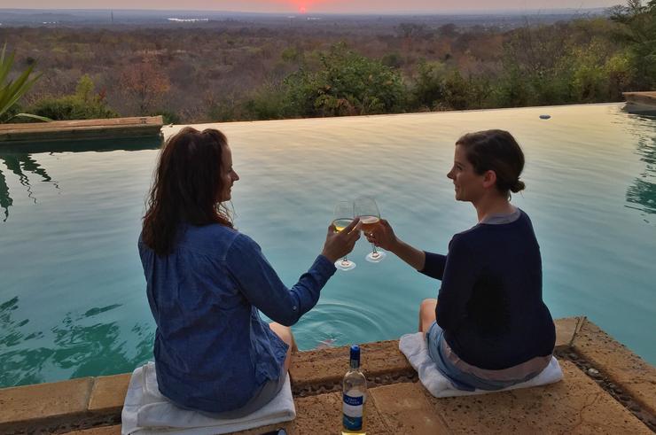 The View at the Stanley Safari Lodge, Livingstone, Zambia