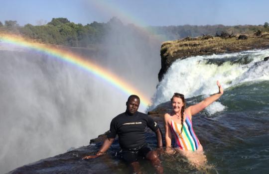 Activities at the Stanley Safari Lodge, Livingstone, Zambia