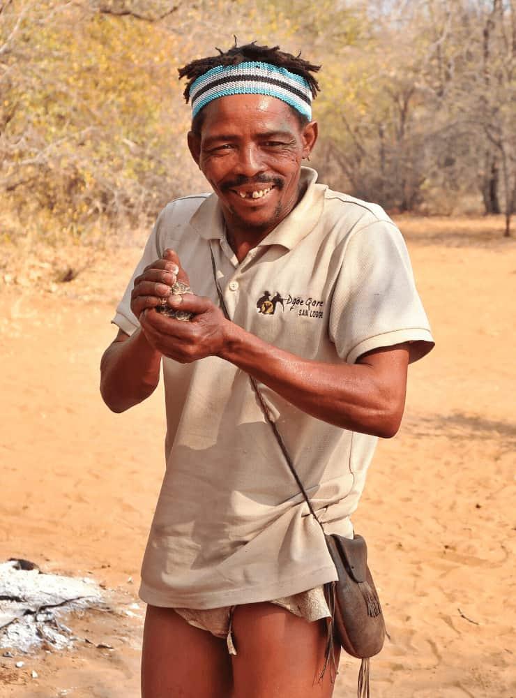 San People in Botswana - Rock My Adventure Tours