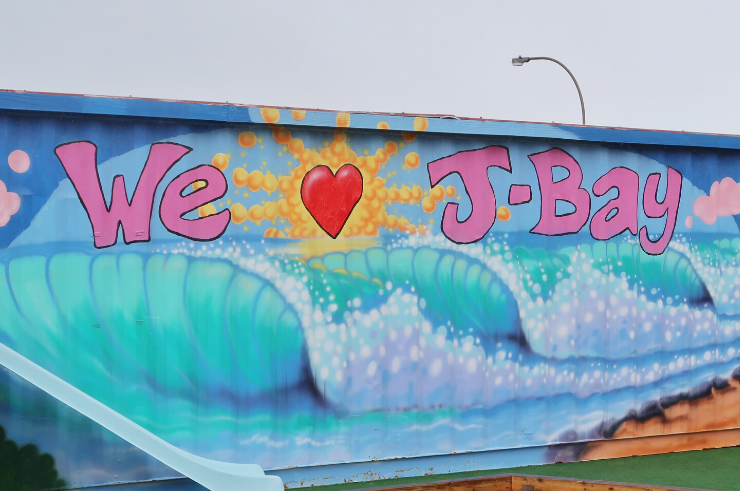 Jeffrey's Bay (J-Bay) Street Art