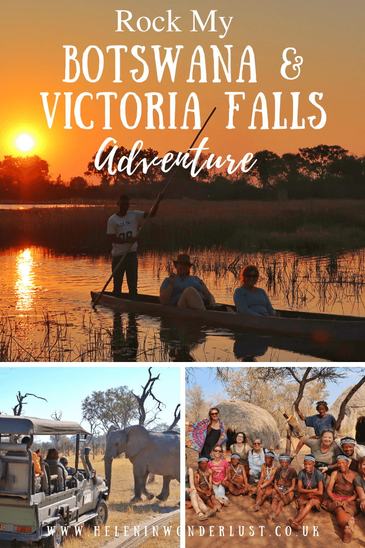 Rock My Botswana & Victoria Falls Adventure - Small Group, African Adventure Tour