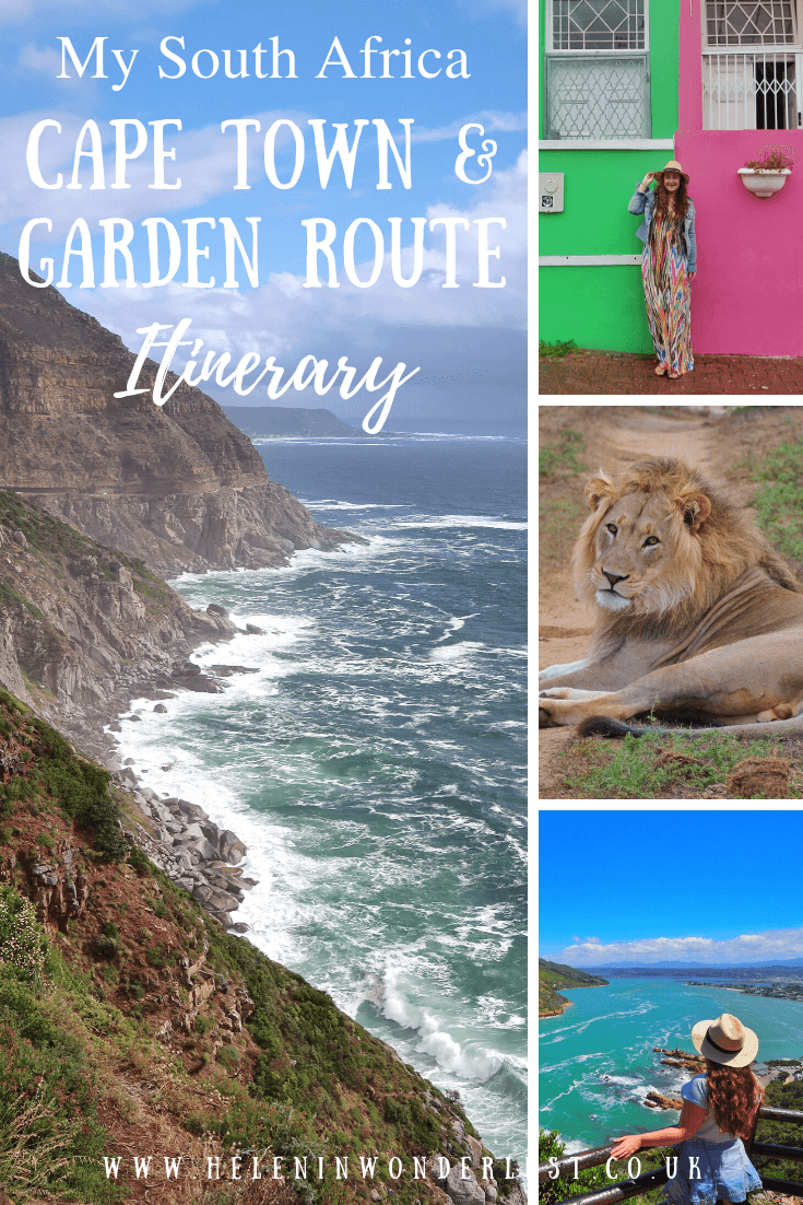 South Africa - Cape Town & Garden Route Itinerary