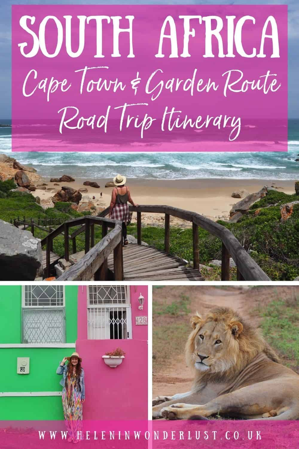 South Africa Road Trip Itinerary - Cape Town & the Garden Route