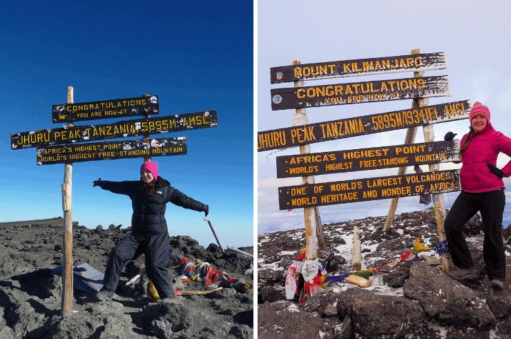 2009 vs 2019 Climbing Kilimanjaro