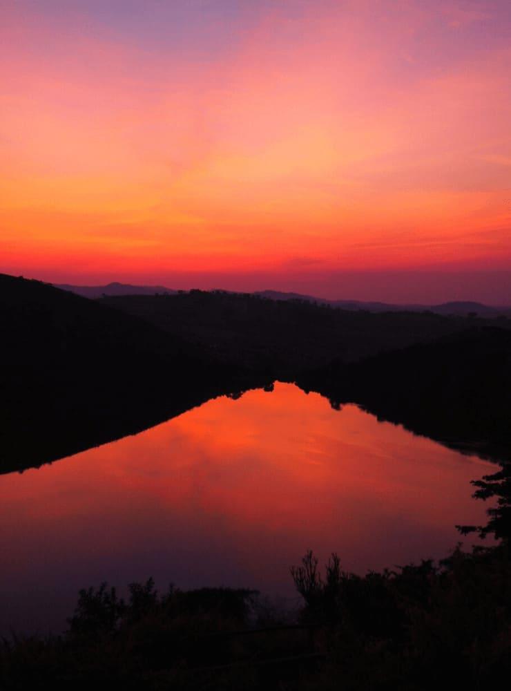 Lake Nyamiteza, Uganda