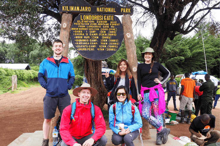 Kilimanjaro Group Tour, Tanzania