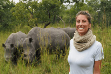 Visiting the Ziwa Rhino Sanctuary, Uganda