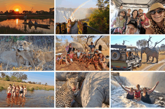 Botswana & Victoria Falls Group Tour
