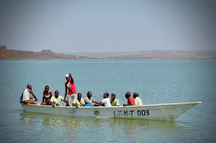 Lake Turkana, Northern Kenya