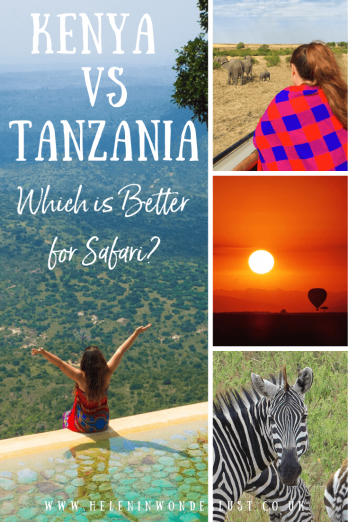 Kenya vs Tanzania - Which is better for safari? Looking at when to go, wildlife, the wildebeest migration, costs and what else the countries have to offer.