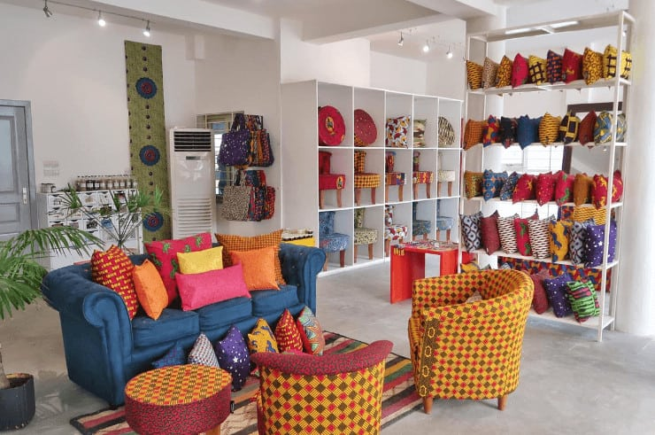 Shopping in Benin, West Africa