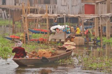 Ganvie Stilt Village, Benin, West Africa