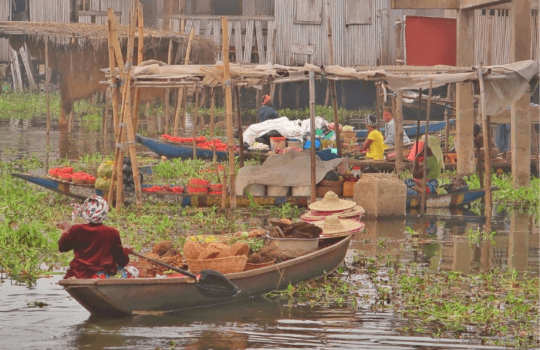 Ganvie Stilt Village, Benin, West Africa