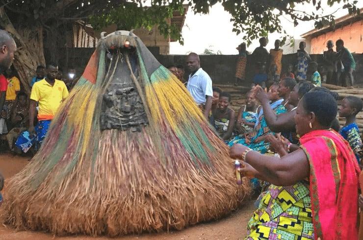 Zangbeto Voodoo Ceremony, Benin, West Africa