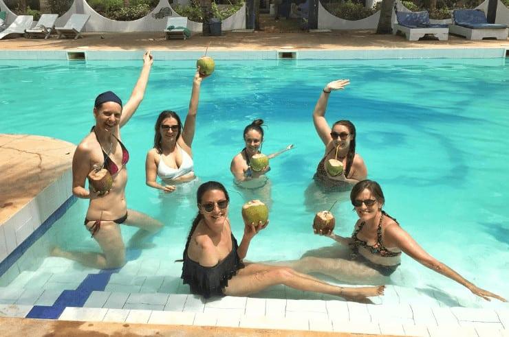 Hotel Pool, Benin, West Africa