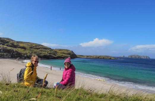 Bosta Beach, Outer Hebrides, Scotland