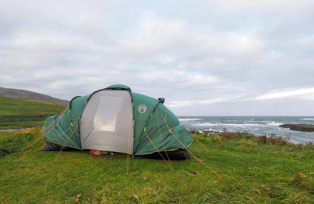 Camping, Outer Hebrides, Scotland