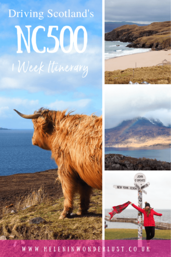 Driving Scotland's North coast 500 (NC500) - A 1-Week Itinerary with the Best Things To See & Do Along the Way