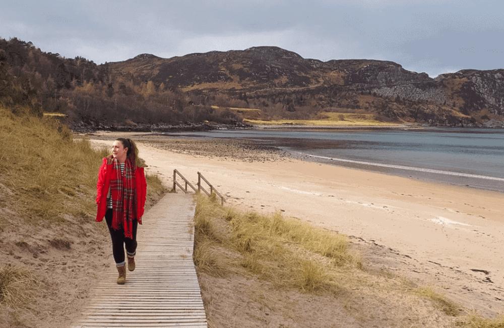 Farr Bay, NC500, Scotland