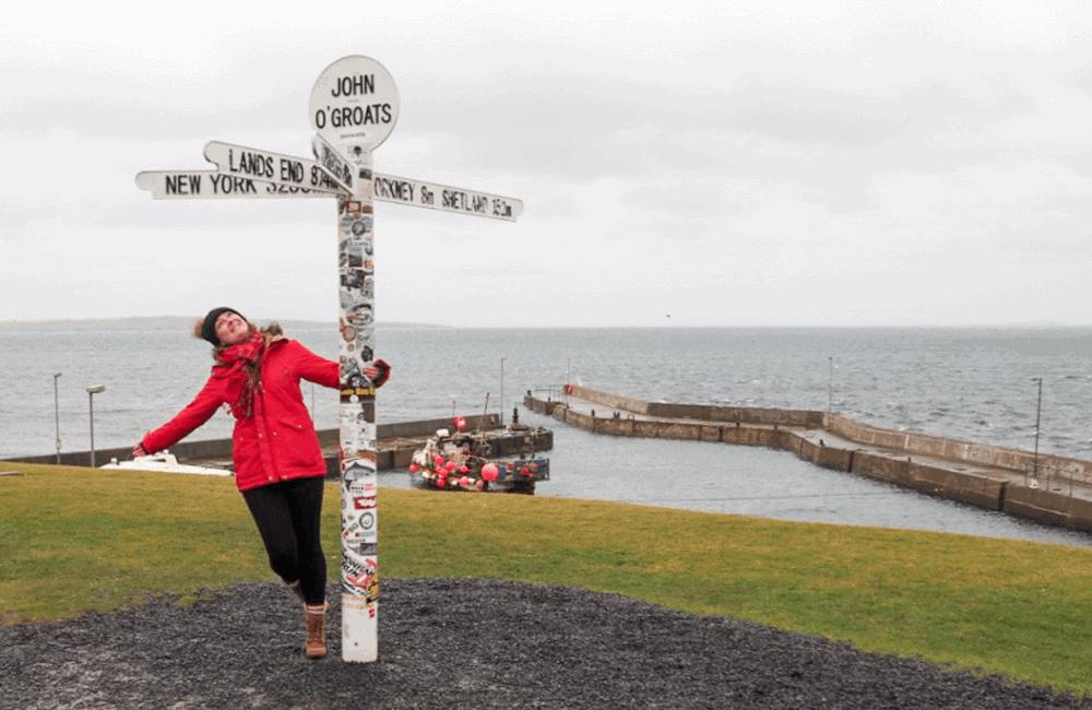 John o'Groats North Coast 500, Scotland