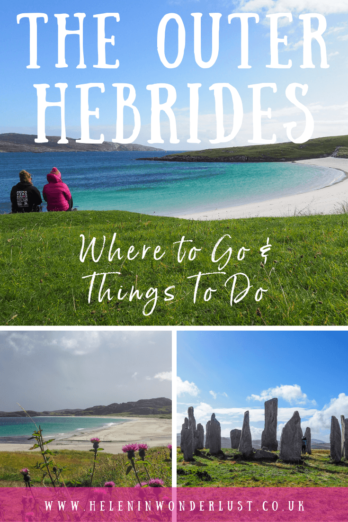 A guide to island hopping the Outer Hebrides in Scotland. With everything you need to help you plan including itinerary, map & things to do!