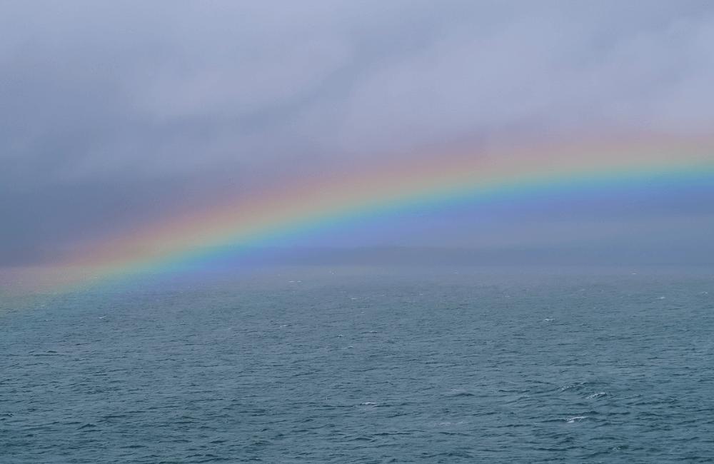 Rainbow, Oban, Scotland