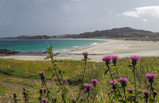 Reef Beach, Outer Hebrides, Scotland
