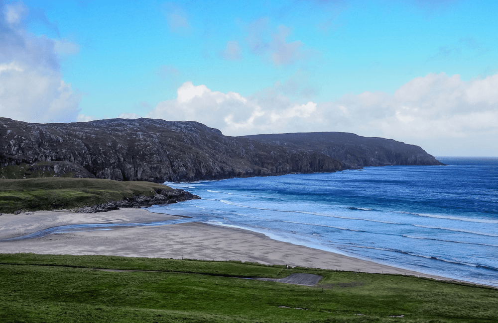 Scenic Circular Drive, Lewis, Outer Hebrides, Scotland