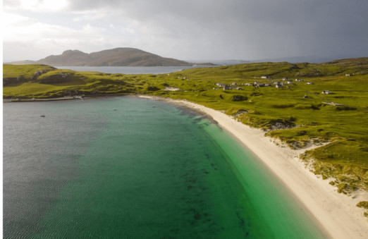 Traigh a Bhaigh, Vatersay, Outer Hebrides, Scotland