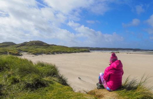 Uig Sands, Outer Hebrides, Scotland