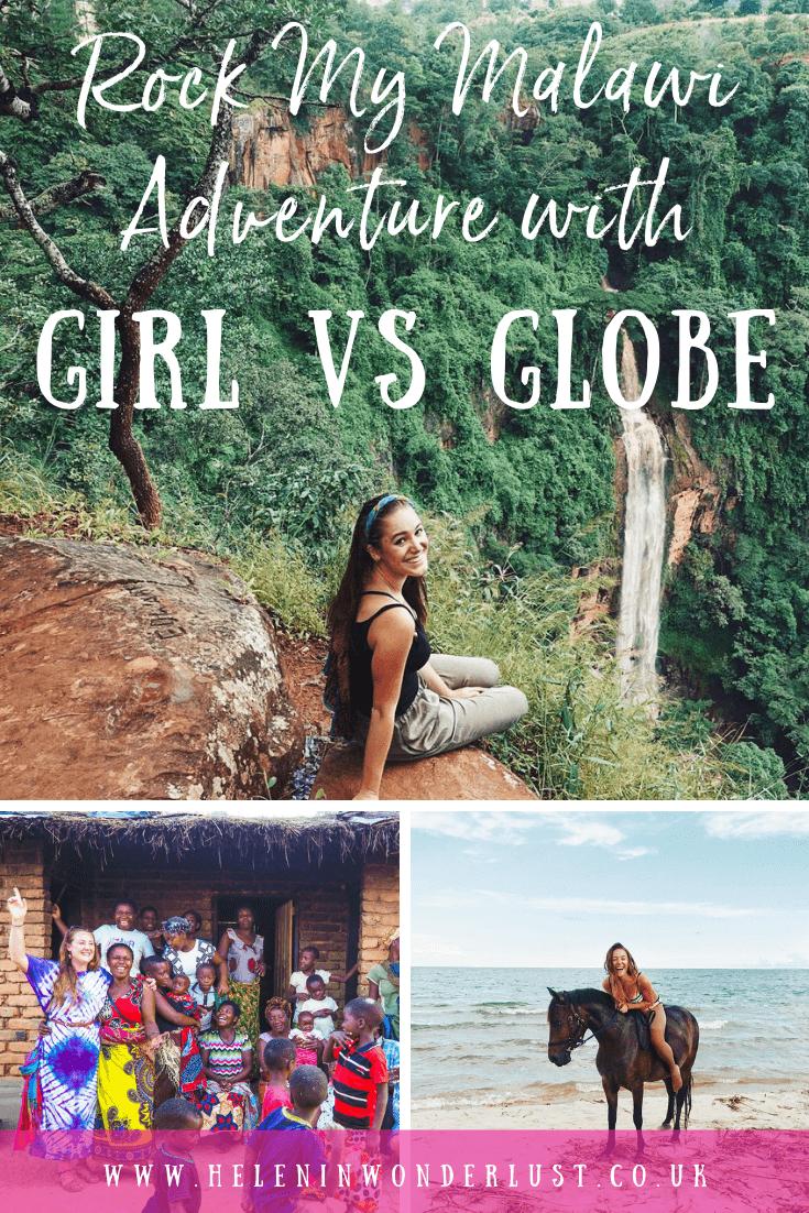 Rock My Malawi Adventure with Girl vs Globe