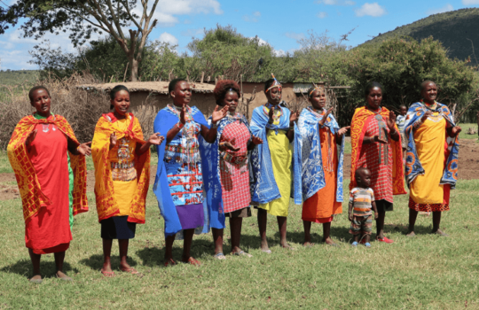 Maasai Women in the Masai Mara