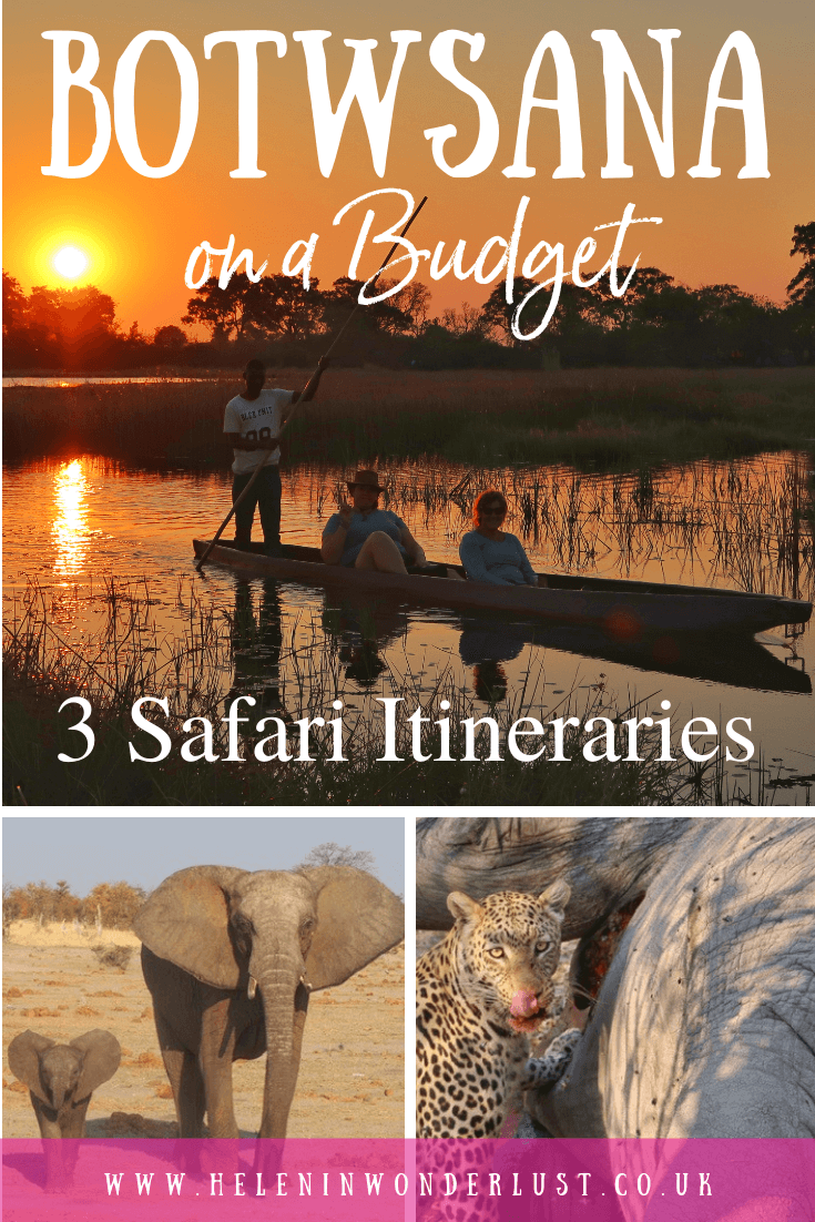 How to Visit Botswana on a Budget (Including 3 Incredible Safari Itineraries)